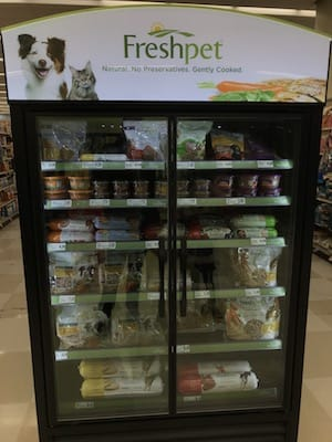 freshpet dog food display